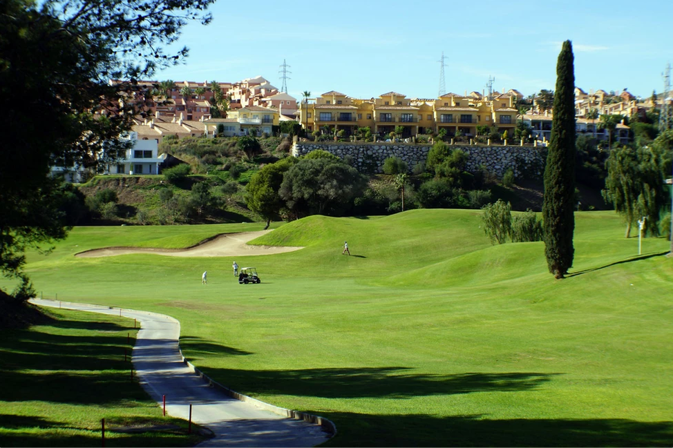 Miralfores Golf Hole 2
