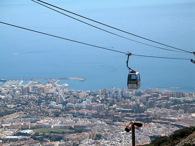 Benalmadena Teleferico Cable Car